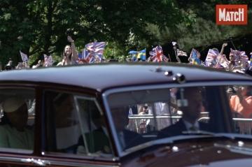 Vidéo : Les Britanniques à la fête pour le mariage de Meghan et Harry