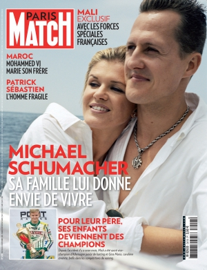 Couverture magazine Paris Match