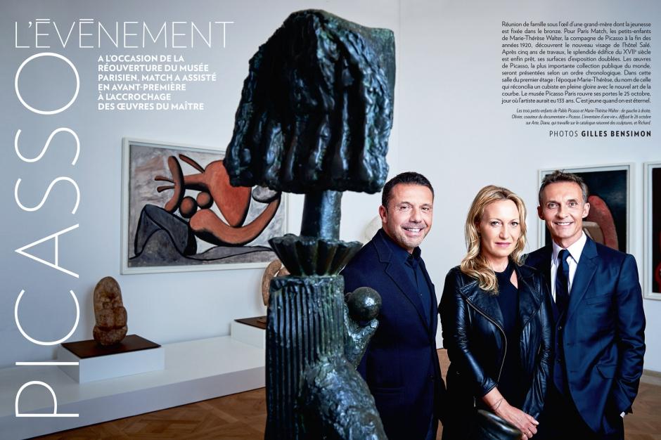 Le musee rouvre ses portes - L'evenement Picasso...
