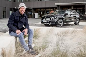 Mercedes GLA 200d & Thomas Coville: Toutes voiles dehors
