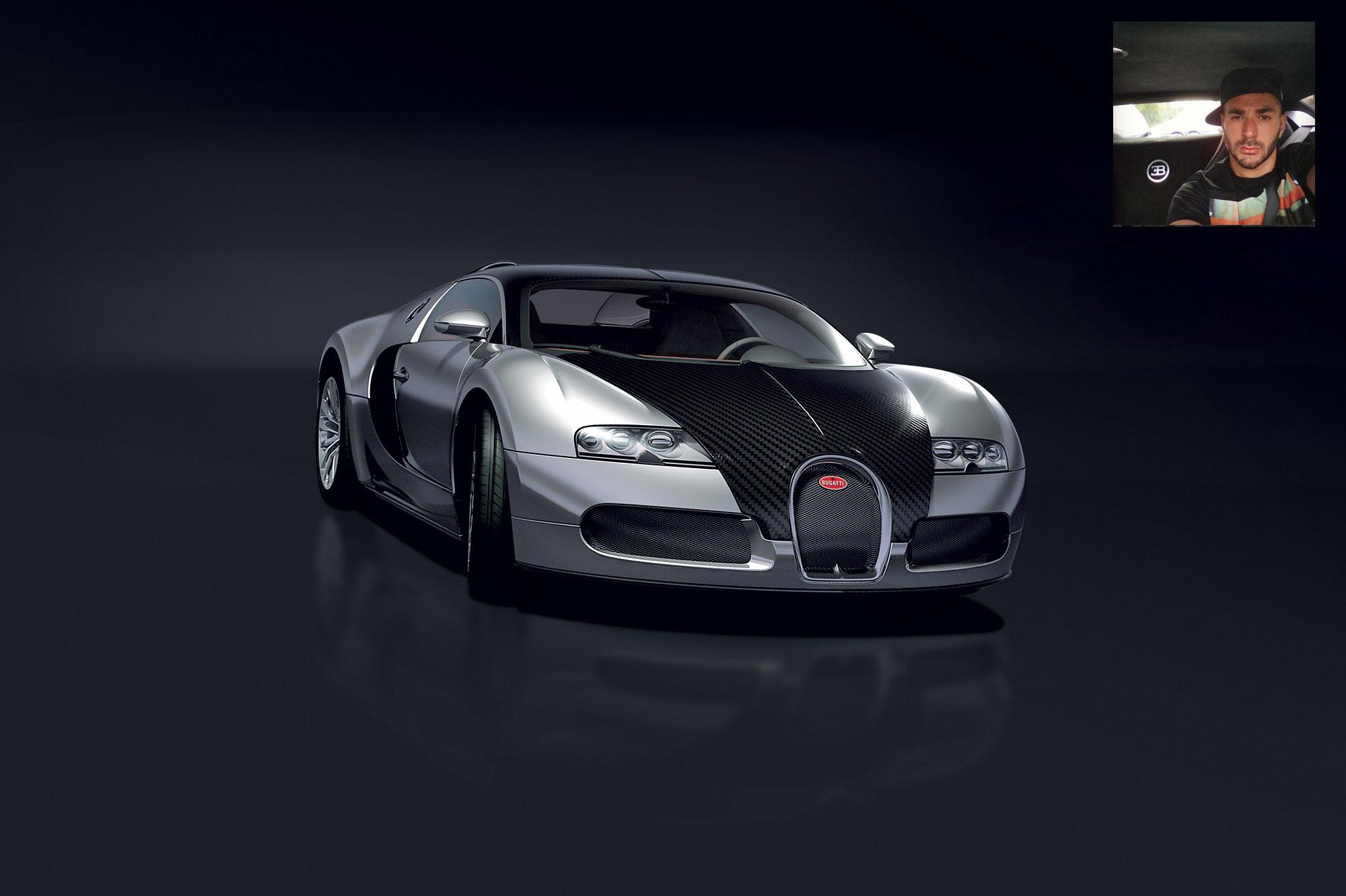 bugatti veyron a benzema bugatti veyron de benzema youtube d couvrez la bugatti veyron de. Black Bedroom Furniture Sets. Home Design Ideas