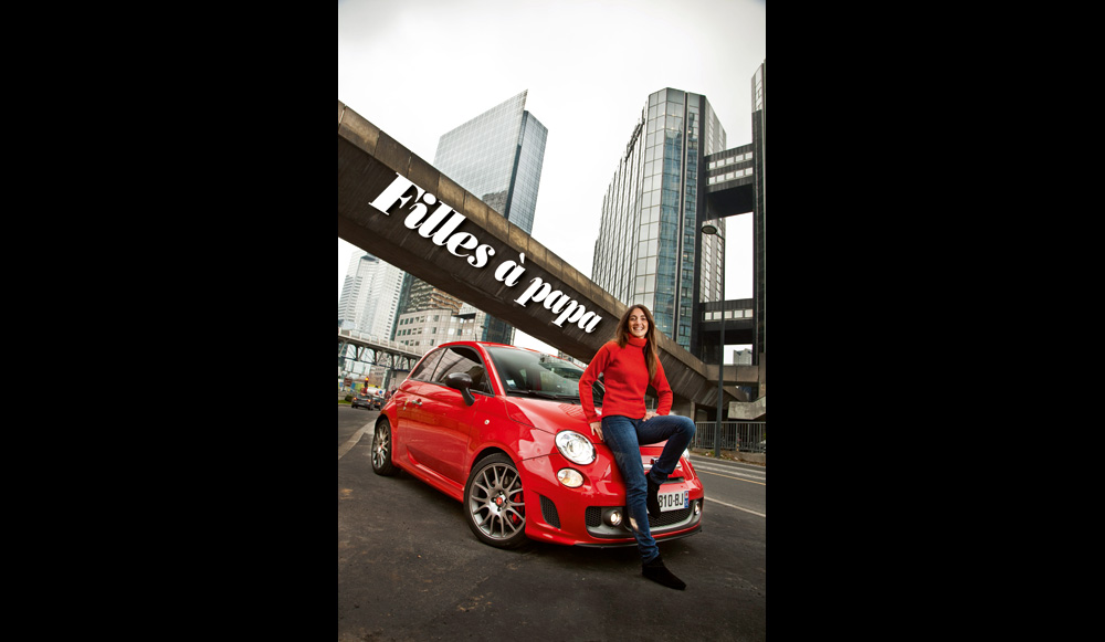 margot laffite et la fiat 500 abarth tributo ferrari. Black Bedroom Furniture Sets. Home Design Ideas