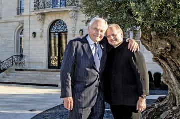Bernard Magrez et Joël Robuchon - Deux papes en terre bordelaise