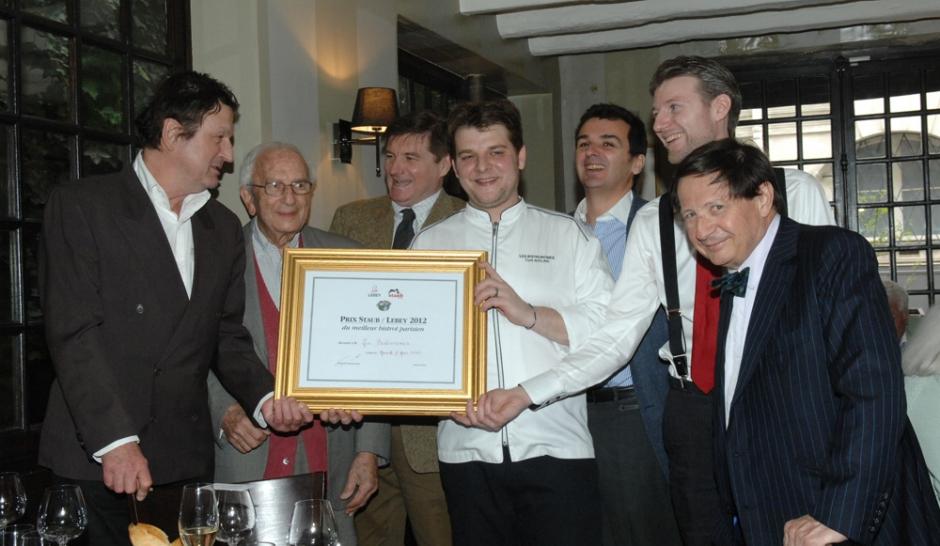 Le Prix Staub-Lebey du meilleur bistrot parisien 2012 pour les Bistronomes
