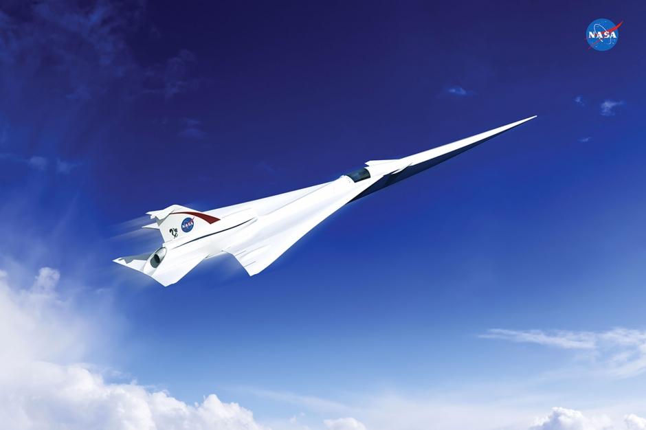 la nasa va avoir un avion supersonique. Black Bedroom Furniture Sets. Home Design Ideas