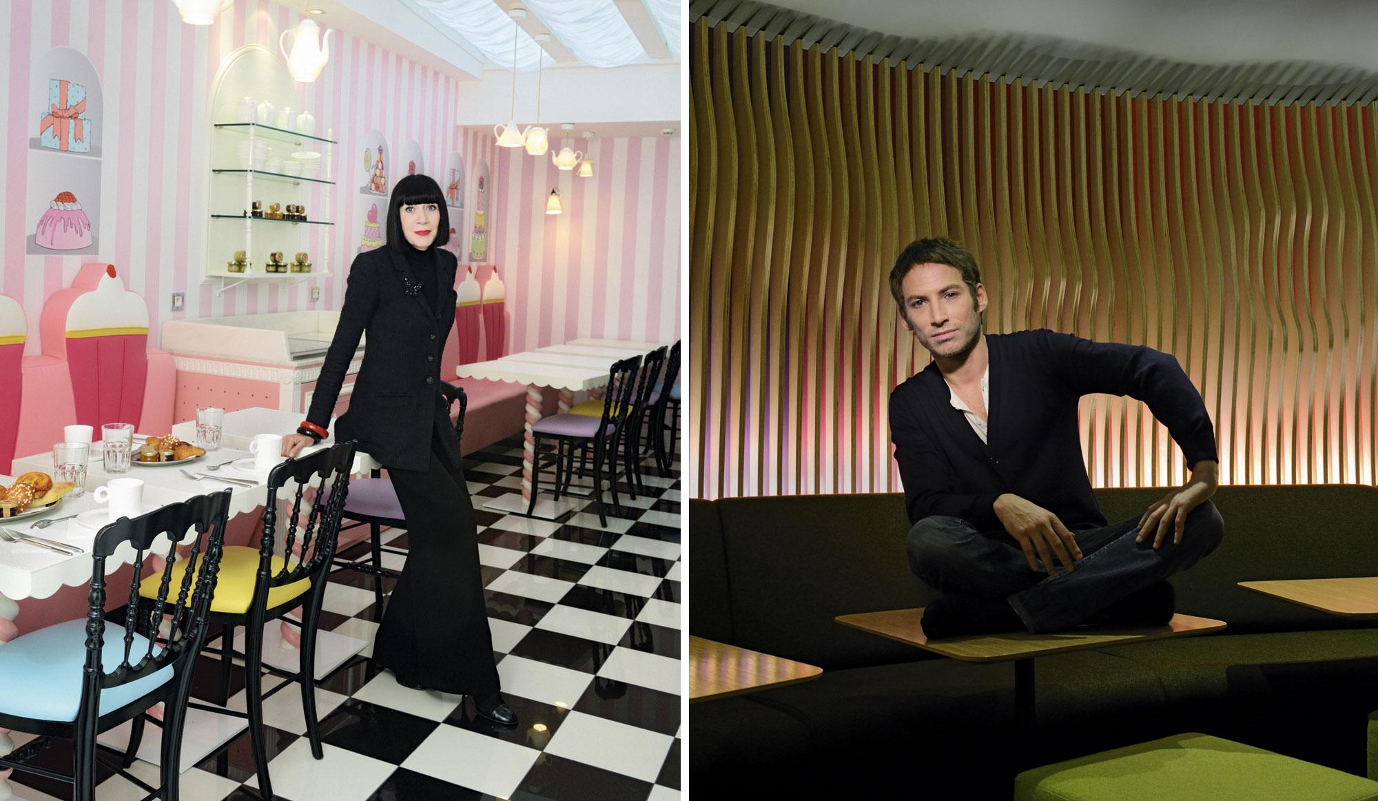 chantal thomass ora ito r veillent l 39 h tellerie parisienne. Black Bedroom Furniture Sets. Home Design Ideas