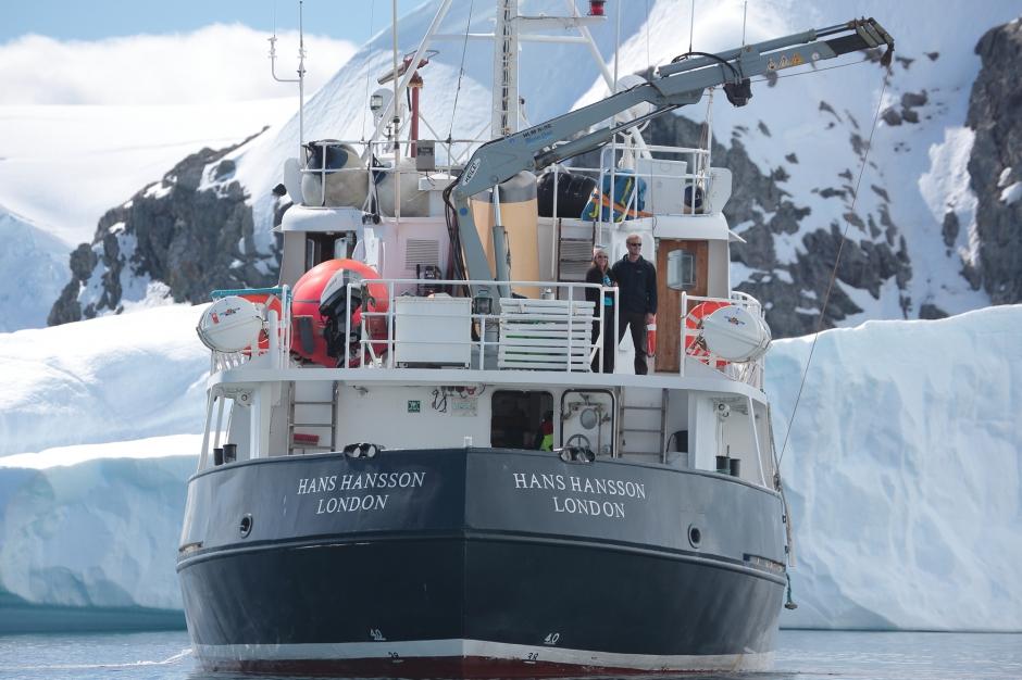 L'Antarctique au long cours