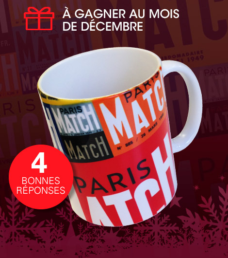 Un mug Paris Match
